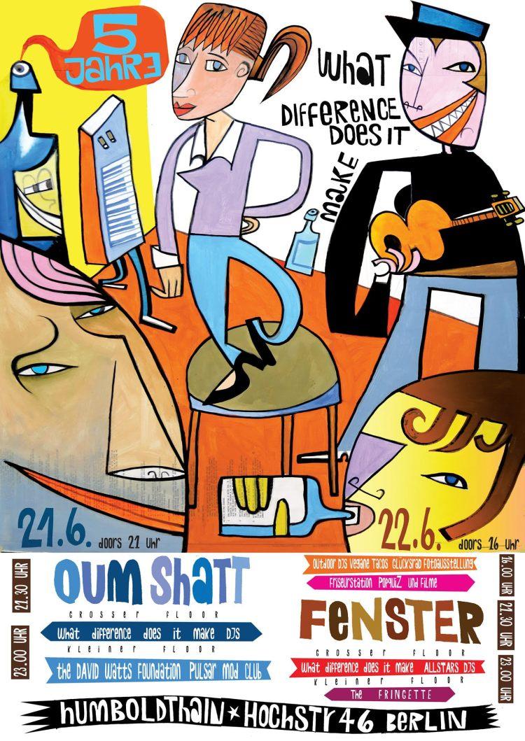 Happy Birthday WDDDIM with Oum Shatt and Fenster