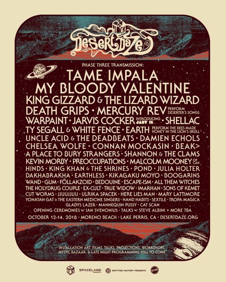 Desert Daze Festival Phase Three