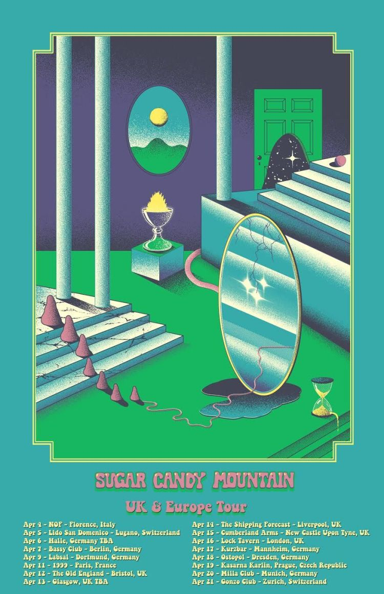 Sugar Candy Mountain Tourposter